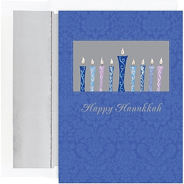 Great Papers® Holiday Cards Shining Candles , 18/Count