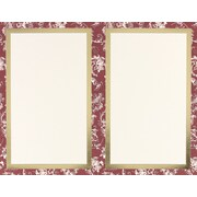 Great Papers® Burgundy Toile 2-Up Invitations, 50/Pack