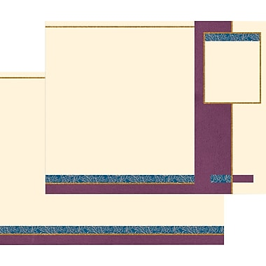 Great Papers® Provence Trifold Brochures, 100/Pack