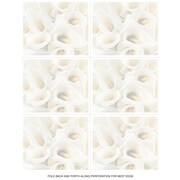 Great Papers® White Calla Lilies Place Cards, 120/Pack