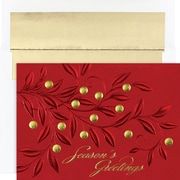 Great Papers® Holiday Cards Red Branches , 16/Count