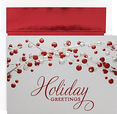 Great Papers Holiday Cards Holiday Berries , 16/Count 1234487