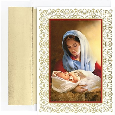 Great Papers® Holiday Cards Madonna And Child , 16/Count