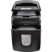 Swingline® Stack-and-Shred 100M, 1758571, 100 Sheets, Micro-Cut, Auto Feed Shredder, Black