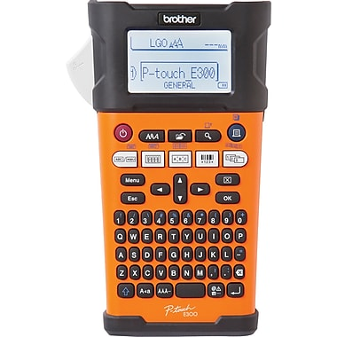 Brother P-Touch® PT-E300VP Handheld Industrial Labeller