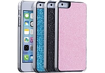 Ebee Glitter Snap Case for Iphone 5& 5S + Screen Protector