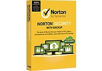 Norton Security with Backup (1-10 Users) [Product Key Card]