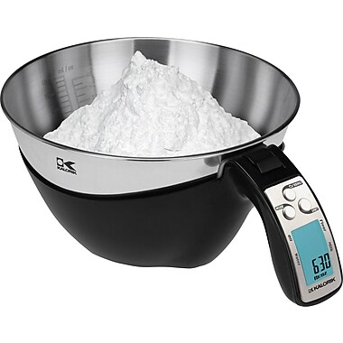 Kalorik iSense Food Measuring Cup Scale, Black