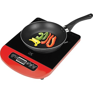Kalorik Induction Cooking Plate, Red