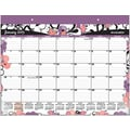 2015 AT-A-GLANCE® Beach Plum Large Desk Pad, 21 3/4in. x 17in.