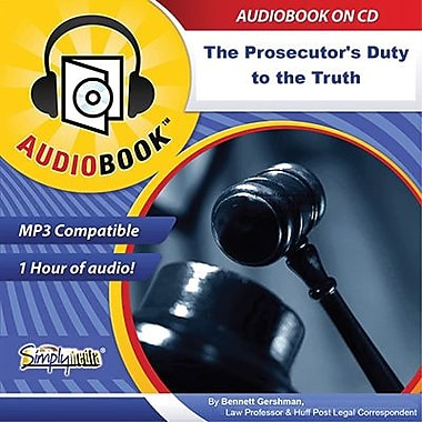 Prosecutor's Duty To Truth By Bennett Gershman, Audiobook [Download]
