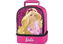 Barbie Sparkle Dual Compartment Soft Lunch Box