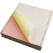 "Staples Multi-Part Colored Computer Paper, 9 1/2"" x 11"", 3-Part"