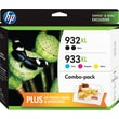 HP 932XL/933XL High Yield Black and C/M/Y Color Ink Cartridges (F6V10FN#140), CVP Value Combo 5/Pk