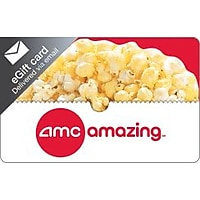 $25 AMC Theatres Gift Card + Bonus $5 Code for (Email Delivery)