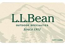 L.L. Bean Gift Card $50