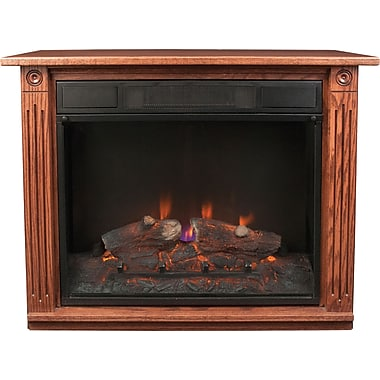 Dutch Legacy Dark Oak Electric Fireplace