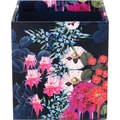 Cynthia Rowley Pencil Cup, Dark Blue Floral
