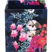 Cynthia Rowley Pencil Cup, Dark Blue Floral (43607)