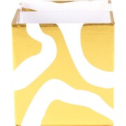 Cynthia Rowley Pencil Cup, Gold Abstract (43608)