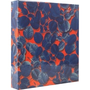 Cynthia Rowley 1 Binder, Blue Leaf