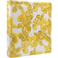 Cynthia Rowley 1in. Binder, Yellow Leaf