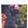 Cynthia Rowley Sticky Cube, Dark Blue Floral, 2.75in.x2.75in.