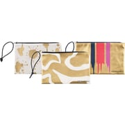 "Cynthia Rowley ""Holds Everything"" Pouch, Assorted Gold (26964)"
