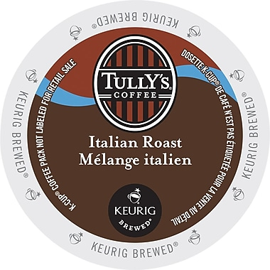 Tully's Coffee Italian Roast K-Cup Refills