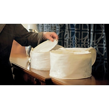 Marathon Management China Storage Damask Dish Case, 9.5