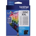 Brother LC205 Cyan Ink Cartridge (LC205C), Super High Yield