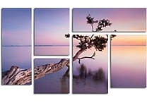 Moises Levy 'Water Tree XV' Gallery-Wrapped Canvas Art, 6-Panel Set