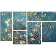 Vincent van Gogh 'Almond Blossoms' Gallery-Wrapped Canvas Art, 6-Panel Set