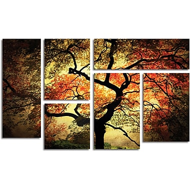 Philippe Sainte-Laudy 'Japanese' Gallery-Wrapped Canvas Art, 6-Panel Art Set