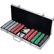 500 Dice Style Casino-Weight Poker Chip Set