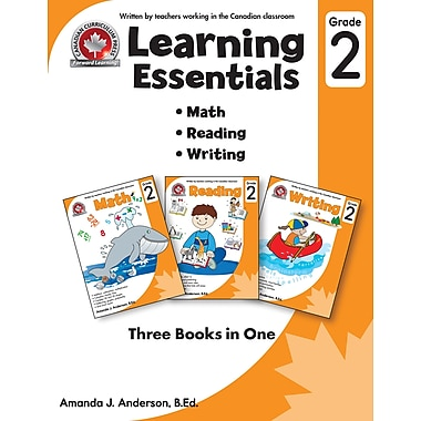 eBook: Grade 2 Learning Essentials, Math, Reading & Writing, by Canadian Curriculum Press (PDF version)