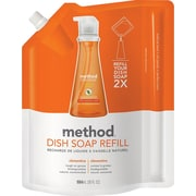 Method® Dish Soap Refill, Clementine, 36 oz.