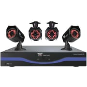 Night Owl 8 Channel 960H DVR with HDMI, 500 GB HDD and 4 x 600 TVL Cameras