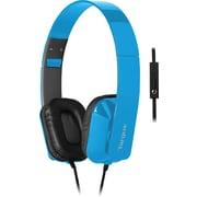 Targus Headphone w/ Mic, Blue