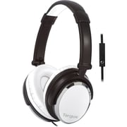 Targus Headphone w/ Mic, White