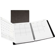 Day-Timer® 2015 DualView Weekly/Monthly Appointment Book, January - December, Gray, 8 1/2 x 11
