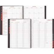 """2016 Day-Timer® Fashion Weekly/Monthly Appointment Book Planner, 8"""" x 11"""", Red, (33353-1601)"""