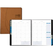 Day-Timer® 2015 Essentials Monthly Planner, January - December, Brown, 8 1/2 x 11