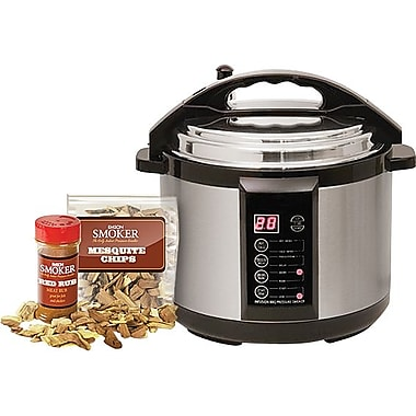 Emson 5 Qt Electric Indoor Pressure Smoker