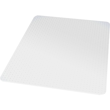 Staples®; Low Pile Carpet Chair Mat, Rectangular, 46in. x 60in.