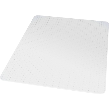 Staples®; High Pile Carpet Chair Mat, Rectangular, 46in. x 60in.