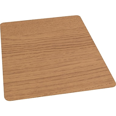 Staples Laminate Chair Mat for Hard Floors, Chestnut