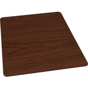 "Staples® 36"" x 48"" Wood Veneer Style Chair Mat for Hard Floors, Cherry"