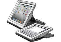 LifeProof® Nuud Cases For iPad (Gen 2/3/4), White/Gray