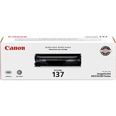 Canon 137 Black Cartridge, (9435B001)
